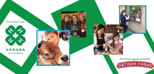 Ontario 4-H Foundation - Guelph Fundraiser