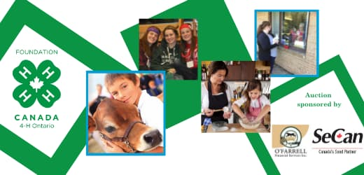 Ontario 4-H Foundation - Ottawa Fundraiser